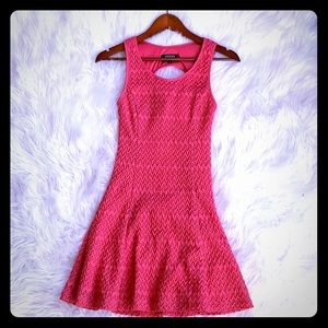 Guess Pink lace lined dress 0 summer